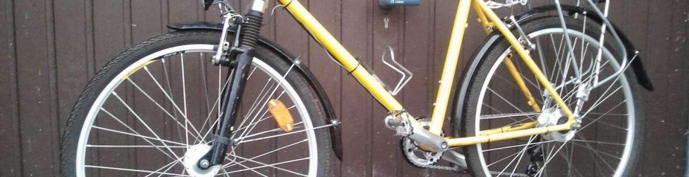 Zimowe zbrojenie roweru