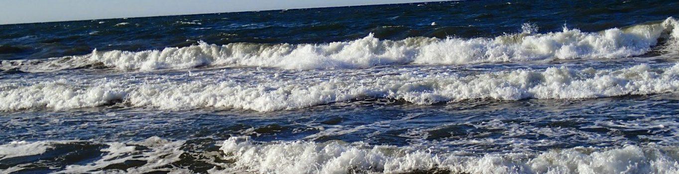 Północny wiatr, czyli dotarliśmy nad morze