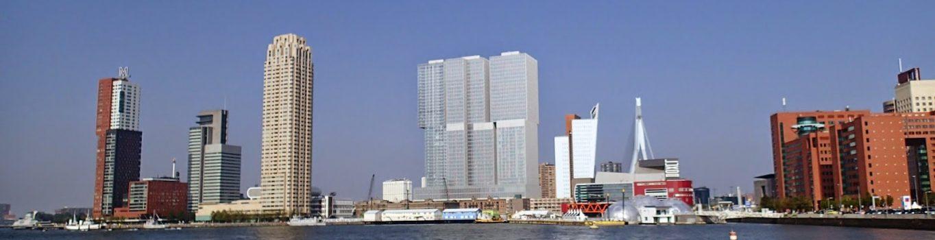 Rotterdam w słońcu